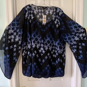 Alfani blouse size 3x